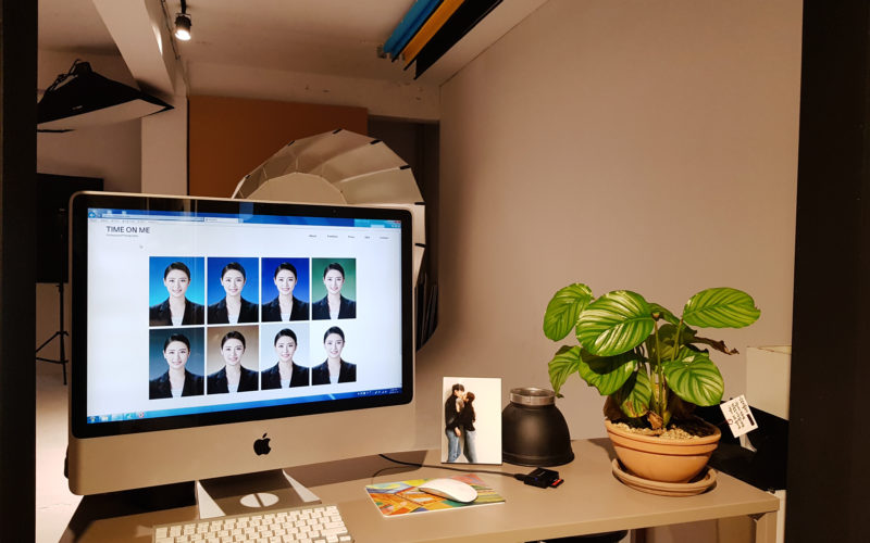 time on me studio editing desk