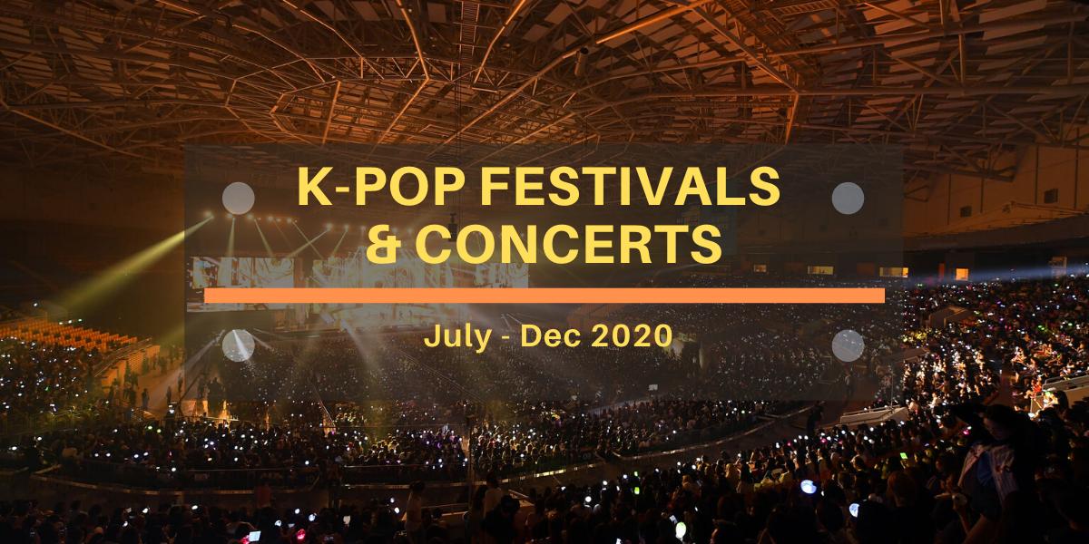 Kpop festival 2020 cover