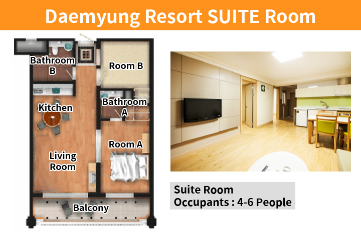 daemyung resort suite room