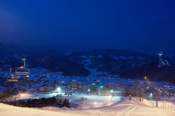 alpensia night ski
