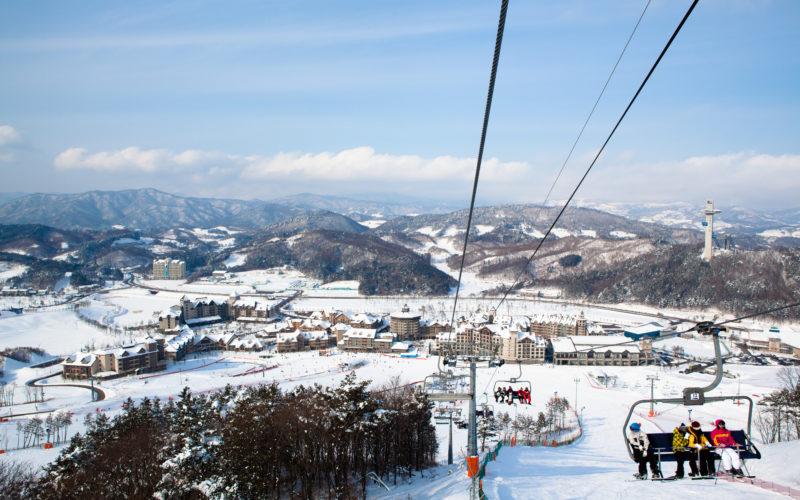 alpensia ski resort view