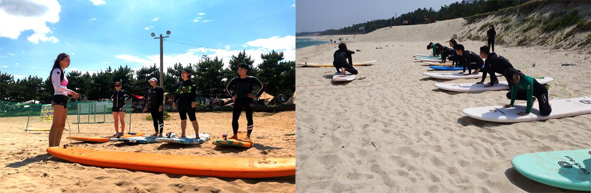 surfing in korea- gangwon- beginning basic knowledgedo