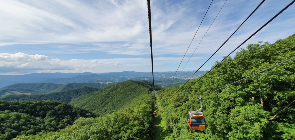 cable car gangwondo tour