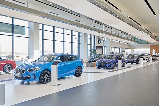 BMW driving center in korea