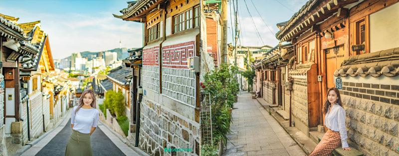 Bukchon Hanok Village seoul snapphoto