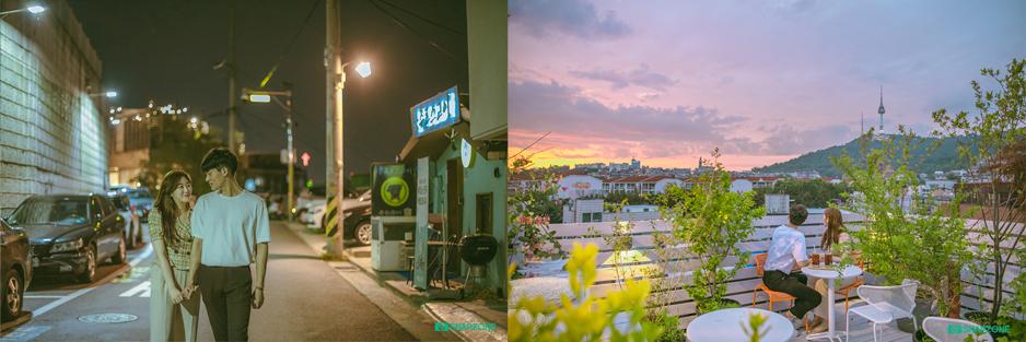 Itaewon date snap photo