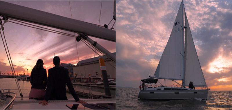 yacht tour incheon sunset