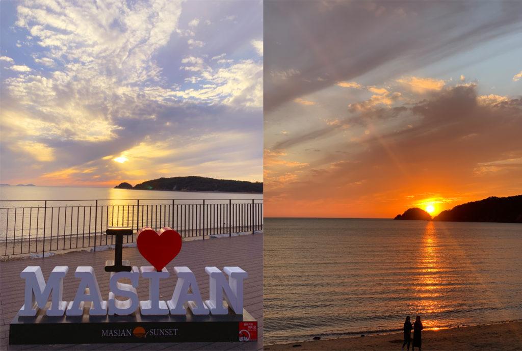 masian beach sunset