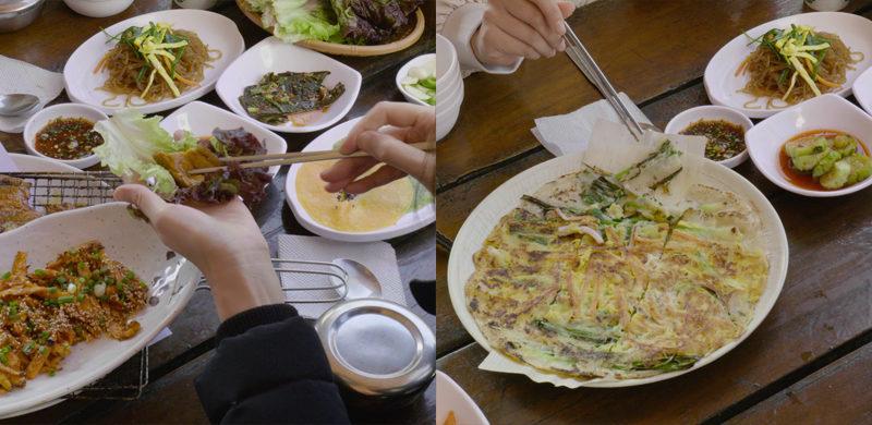 Mungyeongsaejae-Provincial Park lunch menu