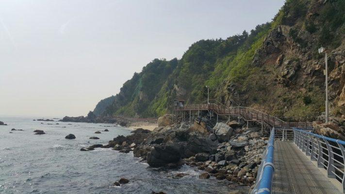 Jeongdong Simgok Sea Puchae Road
