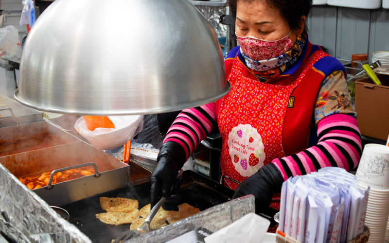 Seomun Market_Flat Dumplings