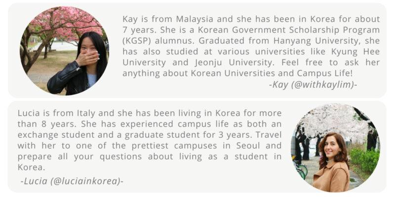 K-Campus Tour Hosts