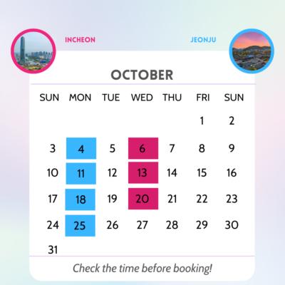Jeongu Incheon October